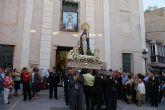 Miles de lumbrerenses arroparon a la Stma. Virgen del Rosario