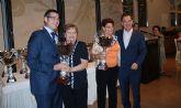 Bacuñana asiste a la comida organizada por la Asociación de Pensionistas y Jubilados 'Virgen del Rosario' de Torre Pacheco