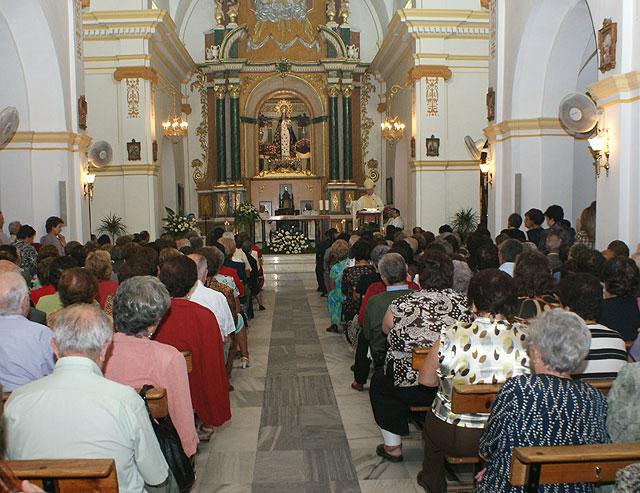 El Obispo de la Diócesis de Cartagena preside la Misa Solemne en honor a la Patrona de Puerto Lumbreras, la Virgen del Rosario - 2, Foto 2