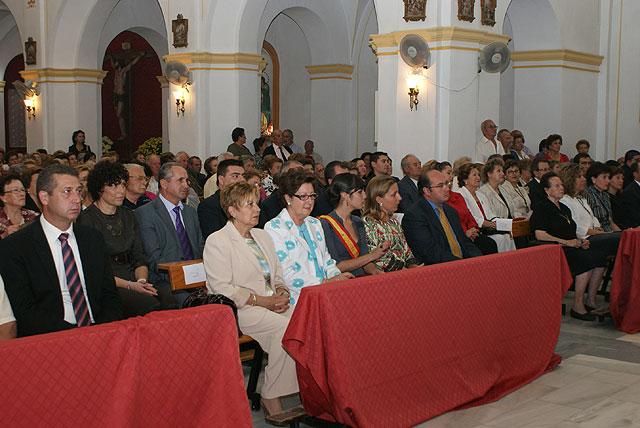 El Obispo de la Diócesis de Cartagena preside la Misa Solemne en honor a la Patrona de Puerto Lumbreras, la Virgen del Rosario - 3, Foto 3