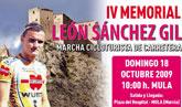 Luis León Sánchez y José Joaquín Rojas, correrán el día 18 de octubre en Mula el IV° Memorial León Sánchez