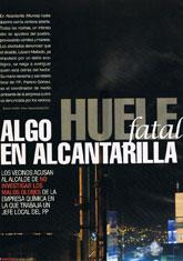 La revista Interviú denuncia la contaminación en Alcantarilla