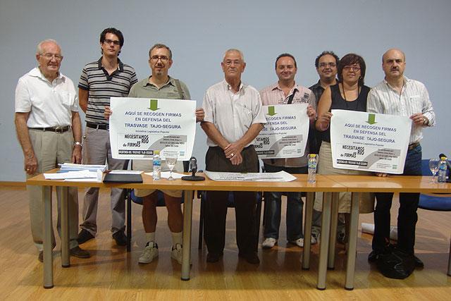 El PSOE de Archena se suma a la iniciativa de recogida de firmas de la plataforma en defensa del trasvase Tajo Segura - 1, Foto 1