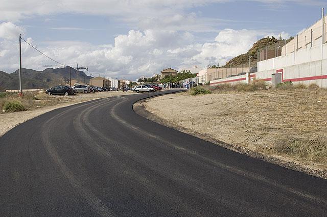 Asfaltada la prolongación de la calle La Vía - 1, Foto 1