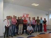 La Asociación de Jóvenes Empresarios del Bajo Guadalentín celebra su junta directiva en Totana