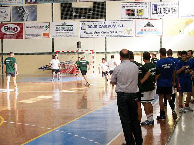 La Policía Local de Villanueva, vencedor del torneo de fútbol sala organizado por la Guardia Civil de Archena por la celebración de su Patrona - 1, Foto 1