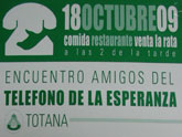 Este domingo 18 de octubre tendrá lugar la comida Encuentro Amigos del Teléfono de la Esperanza Totana
