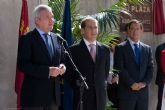 Inauguración de la plaza de Adolfo Suárez y aparcamiento de entrevías en Alcantarilla