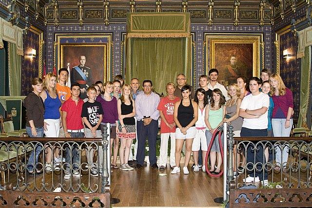 Estudiantes alemanes visitan el municipio - 1, Foto 1