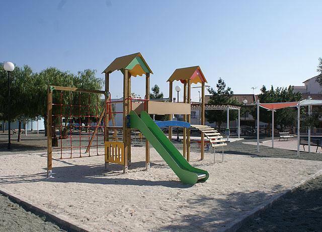 El Ayuntamiento de Puerto Lumbreras finaliza las obras de mejora en el Parque Público de La Estación del Esparragal - 1, Foto 1