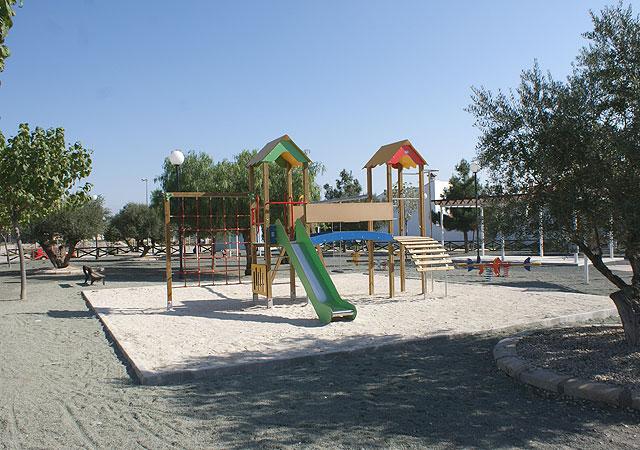 El Ayuntamiento de Puerto Lumbreras finaliza las obras de mejora en el Parque Público de La Estación del Esparragal - 2, Foto 2