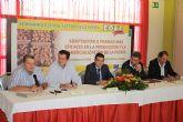 El Alcalde de Torre-Pacheco inaugura el Seminario Estatal de Patata de COAG