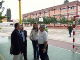El Alcalde de Molina visita varias obras finalizadas en colegios públicos del municipio correspondientes al Fondo de Inversión Local para el Empleo