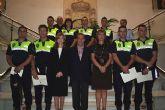Ocho nuevos agentes de la Policía Local de Alcantarilla toman posesión de su cargo