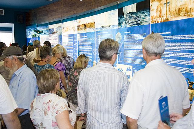 Más de ocho mil personas por el Centro de Interpretación del Barco Fenicio de Mazarrón - 1, Foto 1