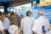 M�s de ocho mil personas por el Centro de Interpretaci�n del Barco Fenicio de Mazarr�n