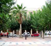 Finalizan las obras de la plaza Enrique Tierno Galván, frente al Ayuntamiento de Alguazas
