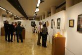 El artista lumbrerense Ezequiel López expone su obra 'Al margen' en el Museo Universidad de Murcia