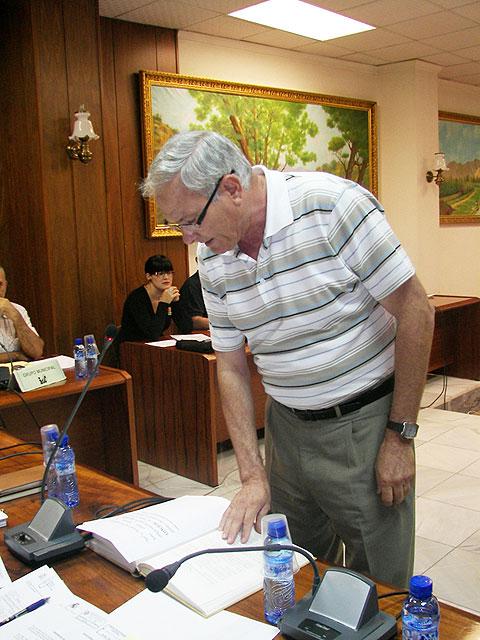 El nuevo Concejal del PSOE, Joaquín Carmelo Gómez, toma posesión de su cargo - 1, Foto 1