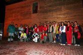 Los alguaceños participan en la IV Ruta Senderista Noctura Torre Vieja