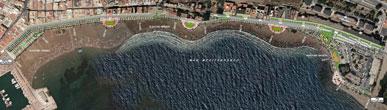 La Comunidad invierte más de cuatro millones de euros en la remodelación integral de los paseos marítimos del Puerto de Mazarrón