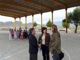 Visita a las obras finalizadas en varios colegios públicos ubicados en las pedanías de Molina