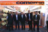 El Alcalde y el director general de Comercio y Artesanía inauguran la I Feria de Comercio Outlet de Puerto Lumbreras