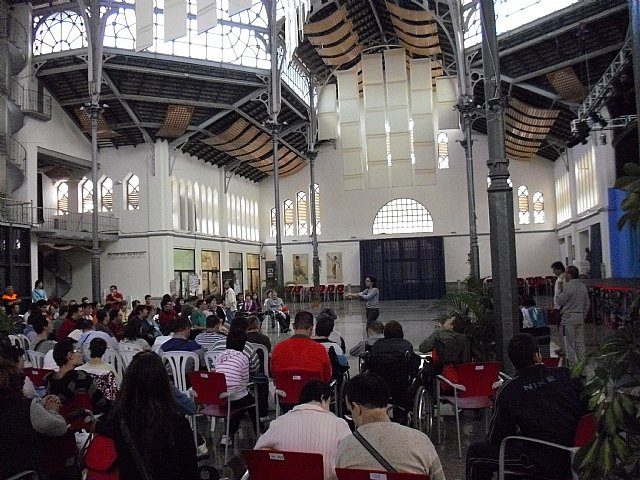 El Centro Ocupacional de Mazarrón, presente en las jornadas de convivencia - 1, Foto 1