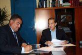 El Ayuntamiento de Alcantarilla suscribre un convenio de colaboración de 51.000 euros con los empresarios del Polígono Industrial Oeste