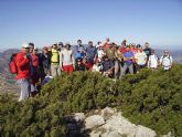 El pasado domingo 25 de octubre se celebró en las laderas de la vertiente oeste del Parque Regional de Sierra Espuña, una ruta a pie