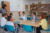 Los centros de educación secundaria de Alguazas firman un convenio con el Ayuntamiento del municipio