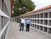 Finalizan las obras de mejora y ampliación del Cementerio Municipal San Damián de Puerto Lumbreras