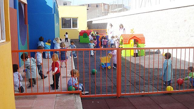 Puesta en funcionamiento de un nuevo patio en la escuela infantil municipal Colorines - 1, Foto 1