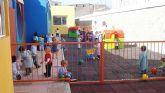 Puesta en funcionamiento de un nuevo patio en la escuela infantil municipal 'Colorines'