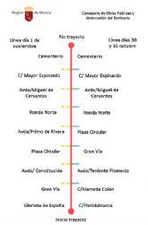La Comunidad refuerza con más de 11.000 plazas el servicio de transporte público para el Día de Todos los Santos