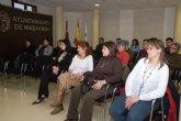 Charla coloquio sobre violencia de género en el centro de día de Mazarrón