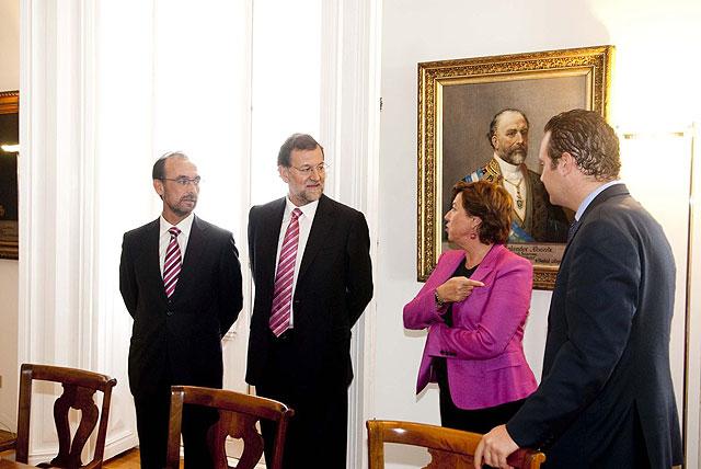 Rajoy impresionado con la magnitud del proyecto de Repsol en Escombreras - 1, Foto 1