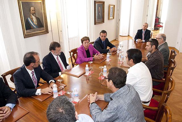 Rajoy impresionado con la magnitud del proyecto de Repsol en Escombreras - 2, Foto 2
