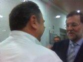 Representantes del PP de Totana asisten a la Junta Directiva Provincial del PP en Cartagena que presidió Mariano Rajoy