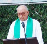 El anterior párroco de San Juan Bautista, Cristóbal Guerrero Ros, pregonero de la próxima Semana de Archena