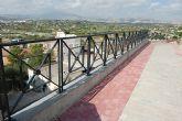 Finalizadas en Lorquí  las obras del muro de calle Vega Media del Segura