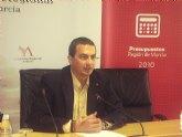 IU cree que los presupuestos de la Región para 2010 'no son creíbles' y 'dan la espalda a la crisis'