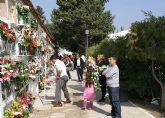 Cientos de lumbrerenses acuden al Cementerio San Damián con motivo del Día de Todos los Santos