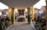 Más de un millar de ciudadanos se han dado cita en la misa coincidiendo con el Día de Todos Los Santos