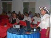 La responsable ecuatoriana de Turismo en el proyecto de codesarrollo Cañar-Murcia visita San Javier