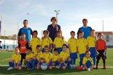 Más de 50 niños forman parte este año de la Escuela Municipal de Fútbol de Alguazas