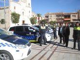 La Policía Local de San Javier estrena cuatro nuevos vehículos
