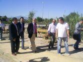 La CHS crea un paseo fluvial en la rambla de Los Olivos de Molina de Segura