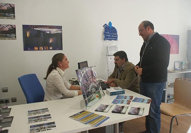 Finalizan las obras de remodelación y mejora de la Oficina de Turismo de Puerto Lumbreras - 1, Foto 1