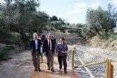 La Consejería de Agricultura y Agua invierte 1,5 millones de euros en infraestructuras hidráulicas en Pliego